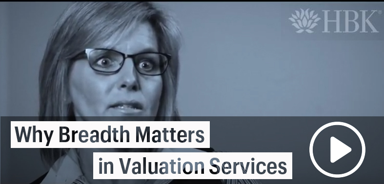 Kelly Carrier explains why it is important to have a breadth of service offerings from your valuation service providers