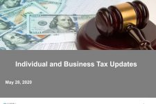Watch: From Survive to Thrive – Individual and Business Tax Update and Tax Planning Opportunities