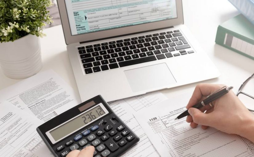 Income tax forms and online filing with calculator