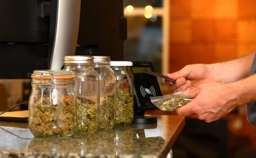 Purchasing Cannabis with a credit card