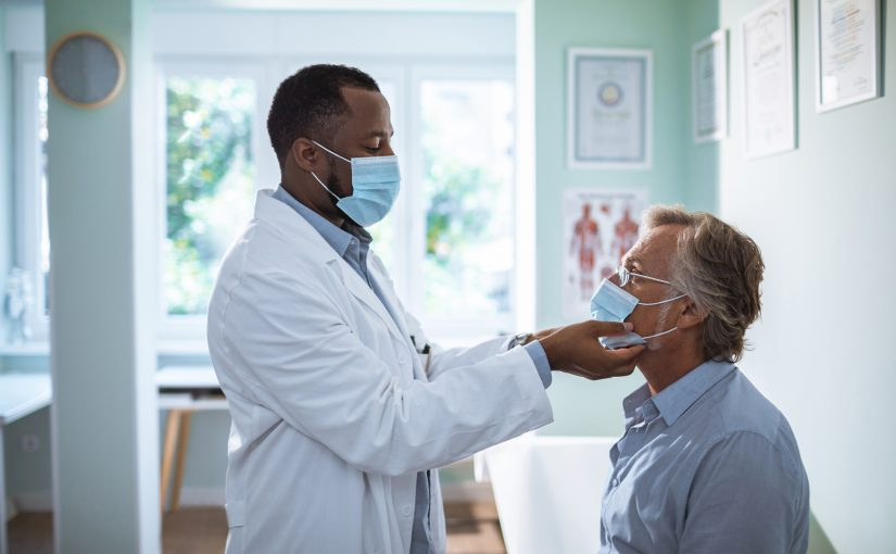 Physician Seeing Patient
