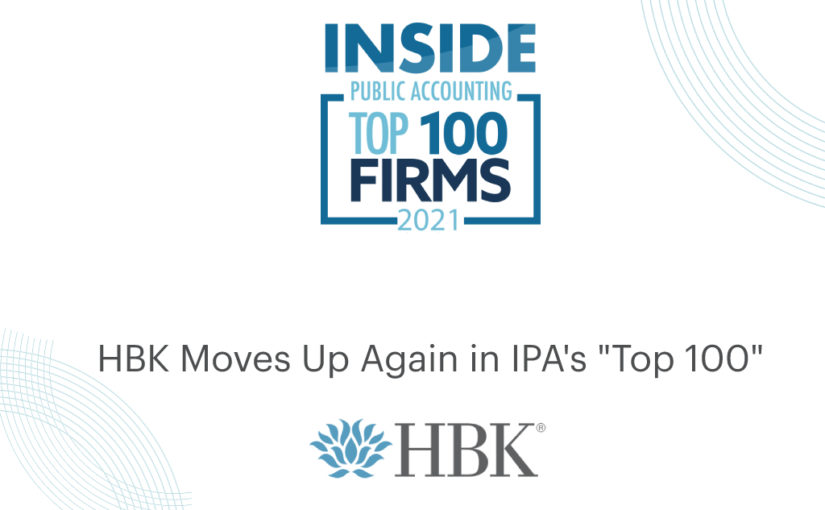 Inside Public Accounting Top 100 2021